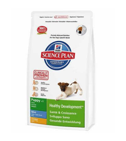 HILL'S Science Plan Canine Puppy Healthy Development Mini Chicken 7.5 kg
